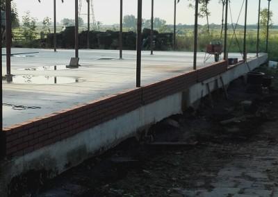 betonvloer + borstwering